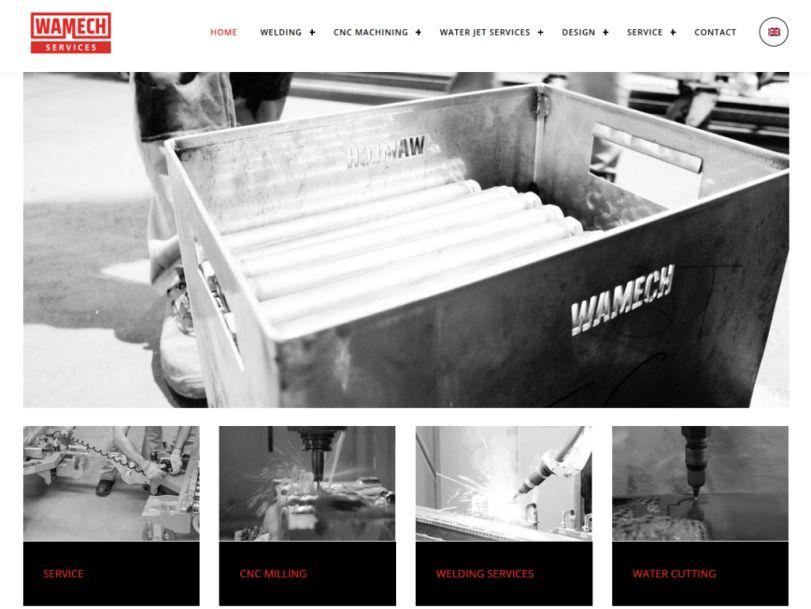 wamech services website
