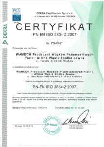 certyfikat spawania